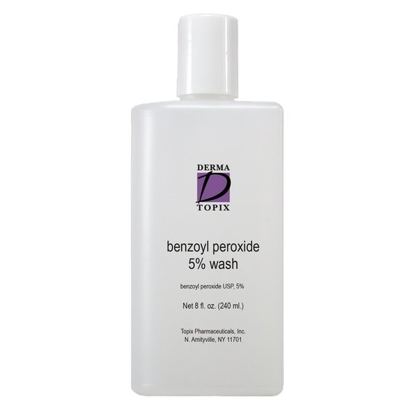 Topix Benzoyl Peroxide 5-percent Wash - Free Shipping On