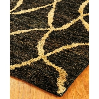 Natural Area Rugs Hand-knotted Millenium Jute Rug (8' x 10')