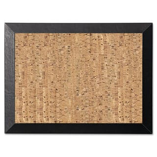 MasterVision Natural 36 x 24 Cork/Black Bulletin Board|https://ak1.ostkcdn.com/images/products/10200437/P17324606.jpg?impolicy=medium