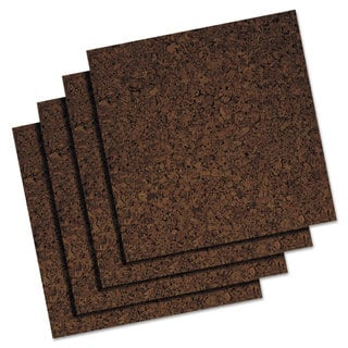 Quartet 12 x 12 Brown Cork Panel Bulletin Board|https://ak1.ostkcdn.com/images/products/10200446/P17324614.jpg?impolicy=medium
