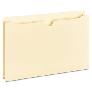 Universal One Manila File Jackets with Reinforced Tabs (Box of 50 File Jackets)