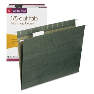 Smead Green Hanging Folders (2 Boxes of 25)