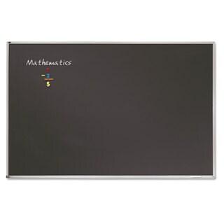 Quartet Porcelain  Black Chalkboard w Silver /Aluminum Frame