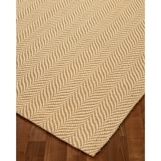 Shop Natural Area Rugs Hand Loomed Vista Jute Rug 8 X 10