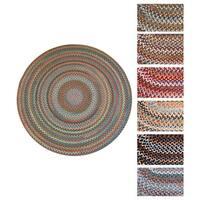Augusta Round Braided Wool Rug by Rhody Rug (10' x 10')