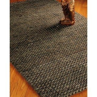Natural Area Rugs Hand-woven Moods Jute Espresso Rug (8' x 10')