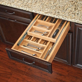 Rev-A-Shelf 4WTCD Series 2-tiered Cutlery Drawer