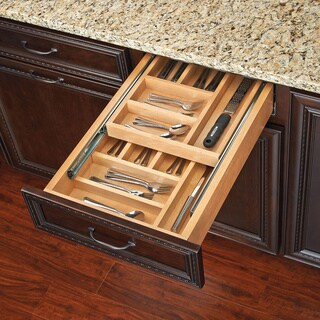 Rev-A-Shelf 4WTCD Series 2-tiered Cutlery Drawer (3 options available)