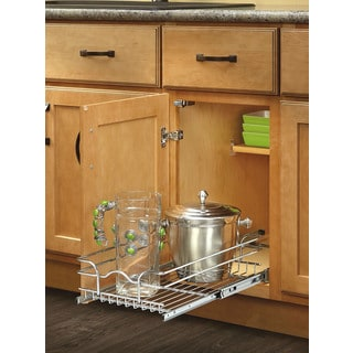 Rev-A-Shelf 18-inch Deep Single Wire Basket
