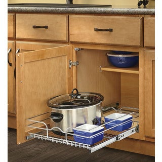 Rev-A-Shelf 20-inch Deep Single Wire Basket