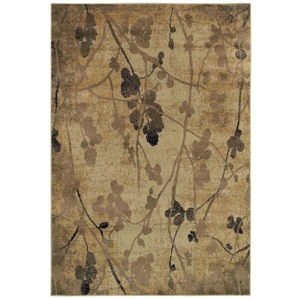 Safavieh Lyndhurst Collection Paisley Beige/ Multi Rug (3 3 x 5 3)