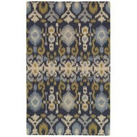 Rizzy Home Country Collection Hand-tufted New Zealand Wool Blend Accent Rug - 3' x 5'