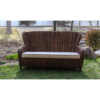 Somette Indoor/Outdoor Rattan Sloped Arm Sofa - 3 Seater|https://ak1.ostkcdn.com/images/products/10200804/P17324831.jpg?impolicy=medium