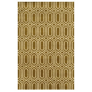 Rizzy Home Julian Pointe Collection Hand-Tufted Wool Accent Rug (5' x 8')