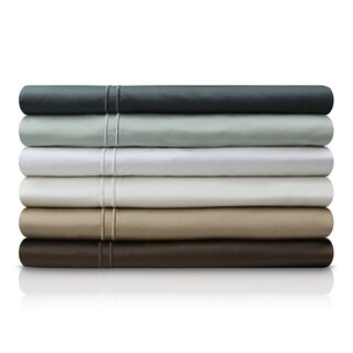 Malouf 600 Thread Count Genuine Egyptian Cotton Extra Deep Pocket Sheet Set