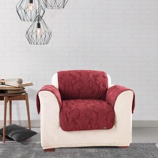 Sure Fit Matelasse Chair Pet Cover