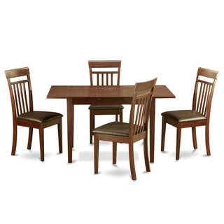 Link to Mahogany Dining Room Table and 4 Dining Room Chairs Chairs 5-piece Dining Set Similar Items in Dining Room & Bar Furniture