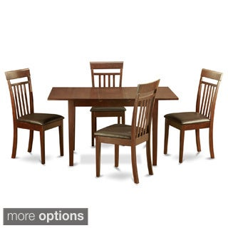 Mahogany Dining Room Table and 4 Dining Room Chairs Chairs 5-piece Dining Set