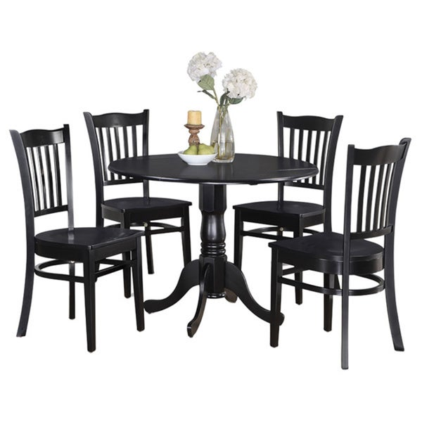 Table and 4 kitchen chairs 5 piece dining set free for Kitchen set cicilan 0