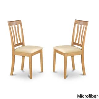 Oak Antique Dining Chair In Finish Set Of 2