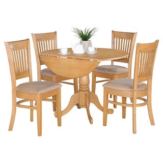 Pine Canopy Siuslaw Oak 5-piece Dining Set (2 options available)