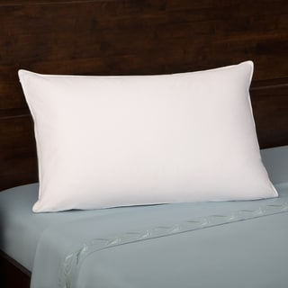 Grandeur Collection 330 Thread Count Cotton Luxe White Goose Down Pillow