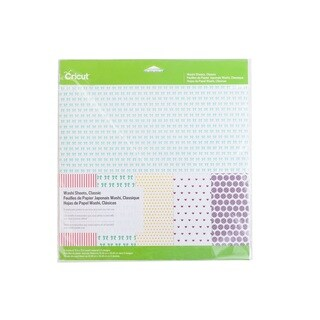 Cricut Classic Washi Sheets for Scrapbooking