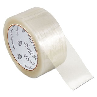 Universal One Carton Clear Sealing Tape (Pack of 6)