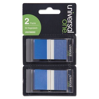 Universal One Blue Page Flags (Pack of 300 Flags/12 Dispensers)|https://ak1.ostkcdn.com/images/products/10201317/P17325301.jpg?_ostk_perf_=percv&impolicy=medium