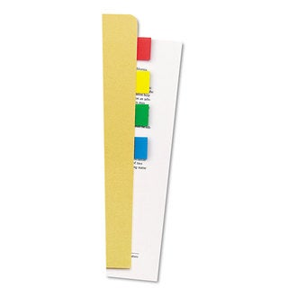 Universal One Assorted Colors Page Flags (Pack of 840 Flags/24 Dispensers)