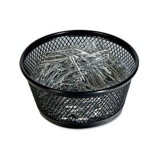 Universal One Black Jumbo Mesh Clip Dish (Pack of 10)