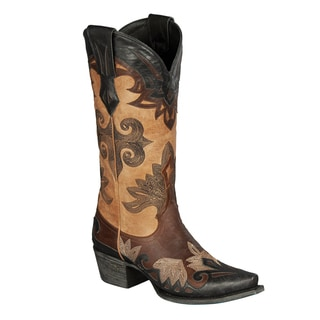 "Lane Boots ""Maggie"" Women's Leather Cowboy Boot"