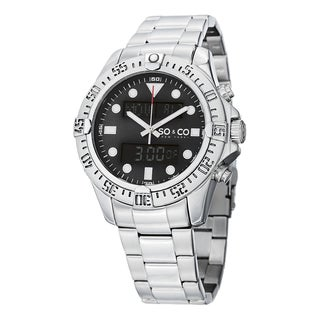 SO&CO New York Men's Yacht Club Quartz Stainless Steel Bracelet Watch|https://ak1.ostkcdn.com/images/products/10201531/P17325458.jpg?_ostk_perf_=percv&impolicy=medium