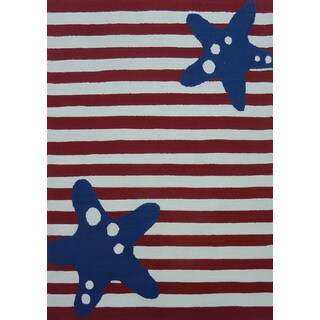 American Flag Outdoor Rug (5' x 7')