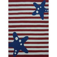 American Flag Outdoor Rug - 5' x 7'