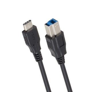 SYBA Multimedia USB 3.1 10Gbps Reversible Type C (USB-C) to Type B Ca