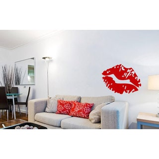 Kiss Lips Vinyl Sticker Wall Art