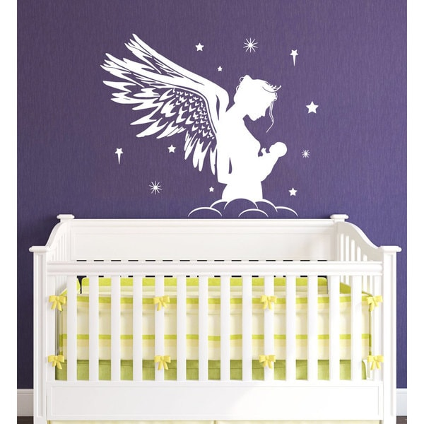 Fairy Angel Nursery Vinyl Sticker Wall Art