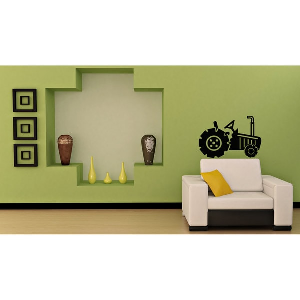 Shop Tractor Vinyl Sticker Wall Art - Free Shipping On Orders Over ...