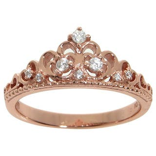 Eternally Haute Sterling Silver Pave Cubic Zirconia Princess Kate Crown Ring https://ak1.ostkcdn.com/images/products/10202269/P17326084.jpg?impolicy=medium