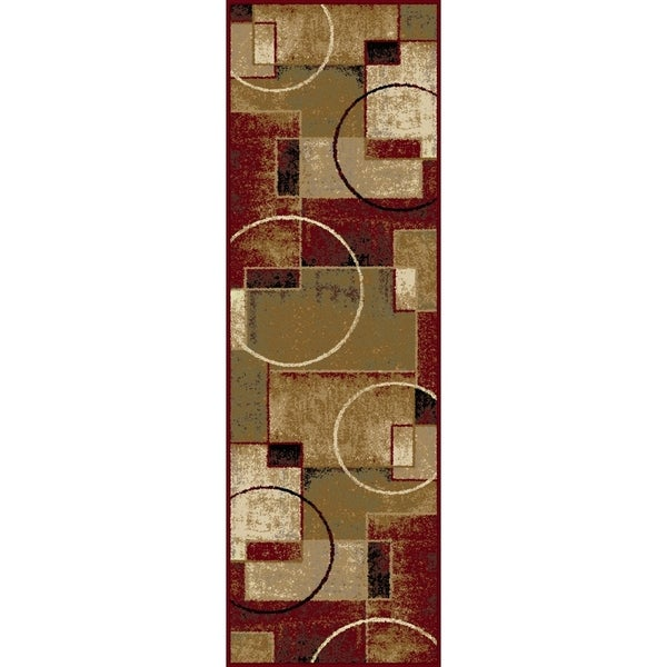 Alise Flora Abstract Multi Runner (2'3 x 7'3)