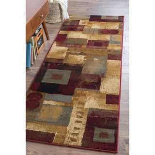 Alise Infinity Multi Abstract Runner (2'3 x 7'3)