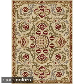 Alise Infinity Floral Area Rug (7'10 x 10'3)