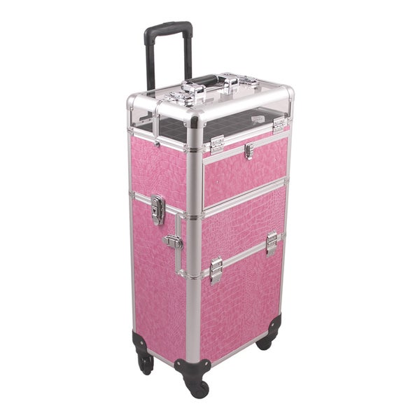 Sunrise Professional 2-in-1 Trolley Makeup Case