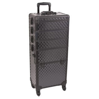 Soozier Rolling Cosmetic Makeup Train Case