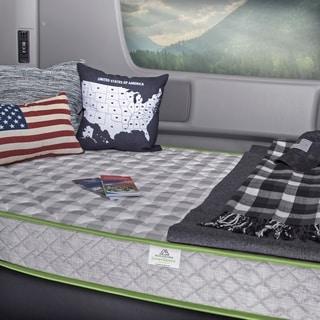 innerspace 55inch rv camper foam mattress option full