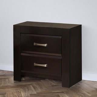 CorLiving BLH-370-N Forbes Creek Dark Cappuccino Nightstand