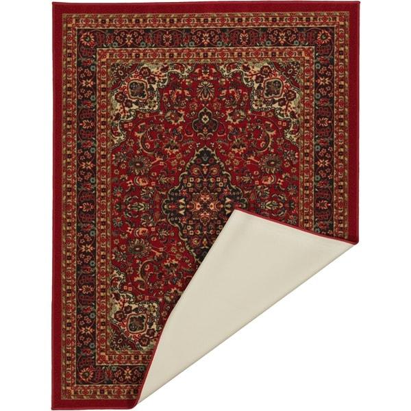 Ottomanson Ottohome Collection Persian Heriz Oriental Design Non Slip  Rubber Backing Area Rug (8u00272 X 9u002710)   Free Shipping Today   Overstock.com    17326298