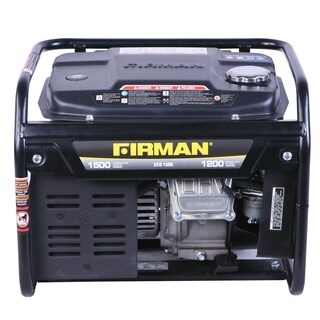 Firman Generators ECO1500 1,500-Watt Portable Gas Generator