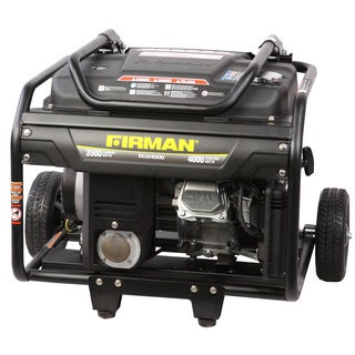 Firman Generators ECO4000 6.5 HP Gas Powered Portable Generator